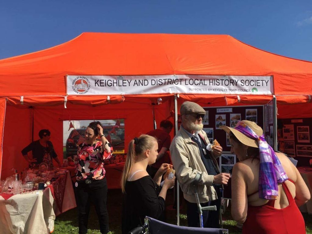 History Society Stall at Keighley Show @ Marley Fields | England | United Kingdom
