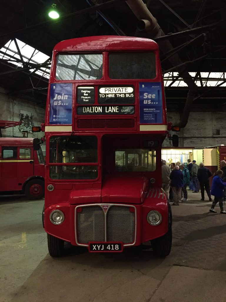 KEIGHLEY BUS MUSEUM OPEN DAY @ Keighley Bus Museum | England | United Kingdom
