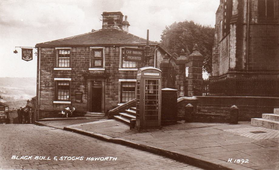 "Steven Wood: ""Old Haworth in Photographs (1870-1970)"" @ Keighley Library 
