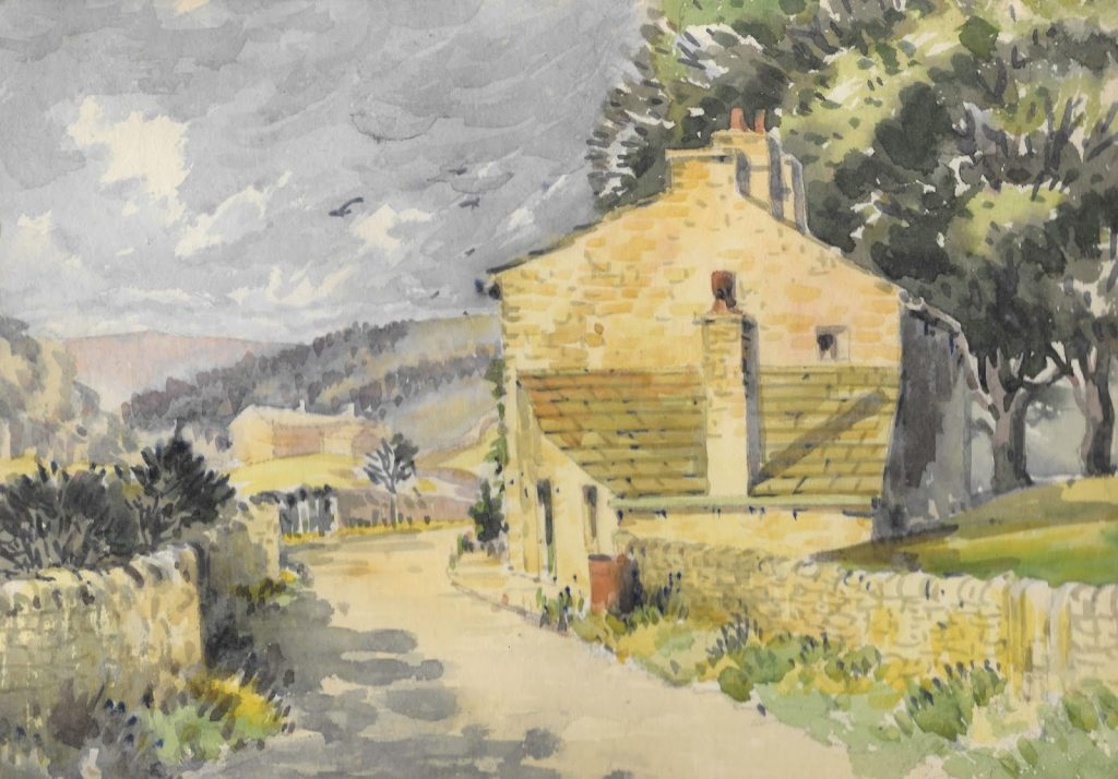 Colin Neville: Past Silsden Artists @ Keighley Library | England | United Kingdom