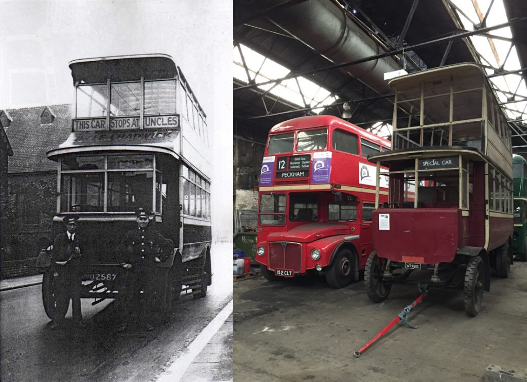 Gerald Newton: Straker Clough Trackless Trolleybus @ Keighley Library | England | United Kingdom